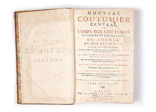 Bourdot De Richebourg Charles A Nouveau Coutumier