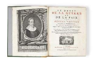 Grotius Hugo Le Droit de la Guerre et de la Paix