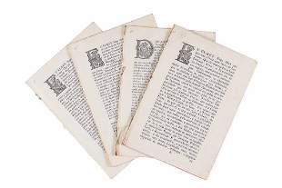Portuguese pamphlets Royal decrees regarding Goa