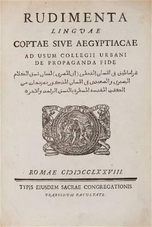 Tuki Raphael Rudimenta linguae Coptae sive