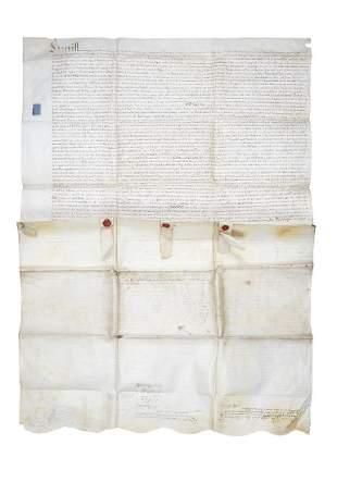 Berkshire indenture settlement of John Lee of