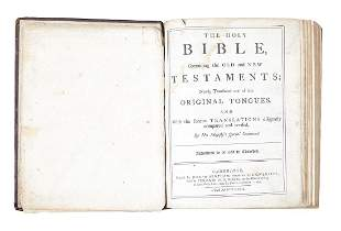 Bible English The Holy Bible 2 vols in 1 with the