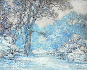 3E: Alfred John Billinghurst (1880-1963) winter scene