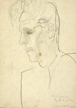 9E: Augustus John (1878-1961) portrait of a.r. thomson