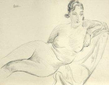 19E: Sir Jacob Epstein (1880-1959) reclining nude (dori