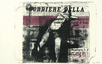 14A: Butler (Reg) figure and italian newspaper
