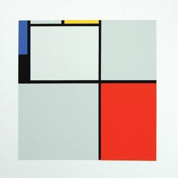 217A: Mondrian (Piet) after. untitled