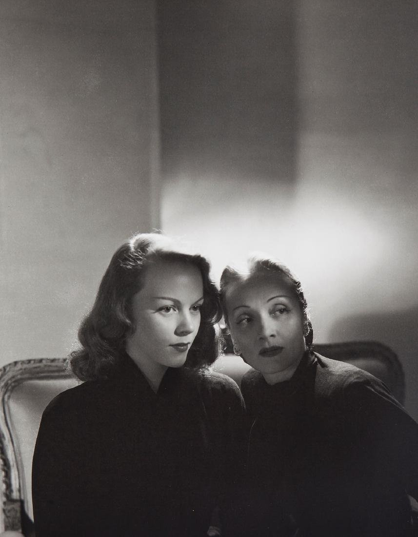 Horst, Horst P. - Marlene Dietrich and Daughter Maria