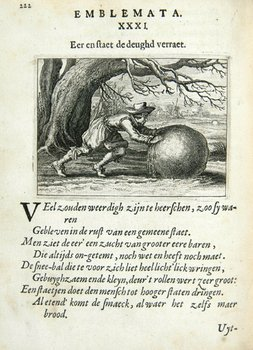 4B: Brune (Johannes De) Emblemata of Zinne-werck