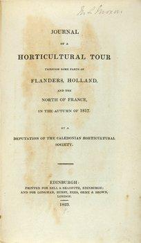 11B: Neill Journal of a Horticultural Tour