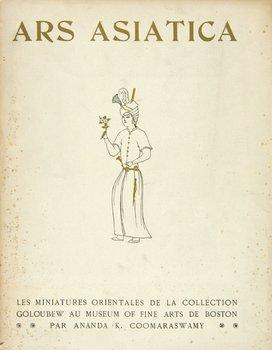 8D: Coomaraswamy.Miniatures Orientales..