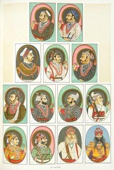 17D: Hendley.Rulers of India,chromo ports,1897