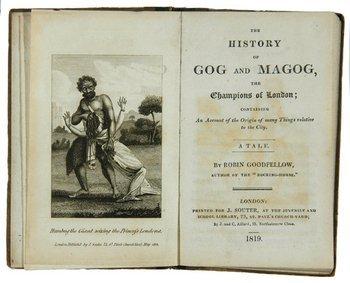 539D: Galt (John)History of Gog and Magog,12mo,1819