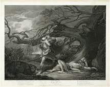 688D Boydell J  J Illustrations Of Shakespeare