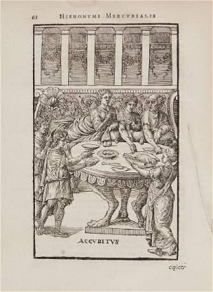 Mercurialis Hieronymus Arte Gymnastica Libri Sex