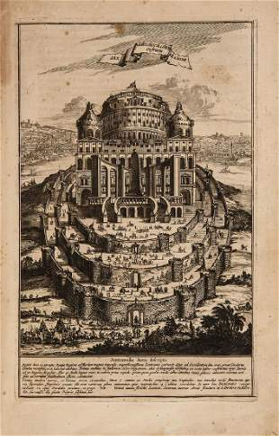 Kircher Athanasius Turris Babel sive