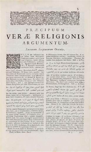 Koran Marraccio Ludovico Prodromus ad