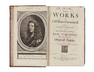 Davenant William The Works