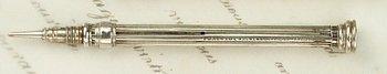 10E: MORDAN & RIDDLE SILVER EVERPOINT, 1828
