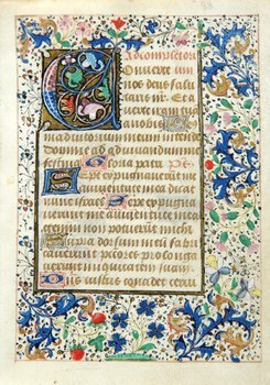 14D: Book of Hours, single f