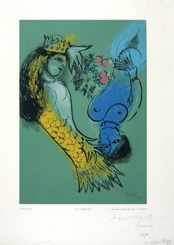 16E: Marc Chagall (1887-1985) after. la sirene