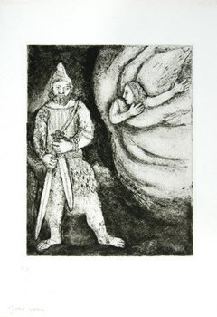 17E: Marc Chagall the bible. pl.43 (see.cb.29)