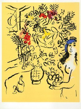 24E: Marc Chagall (1887-1985) couverture de menu