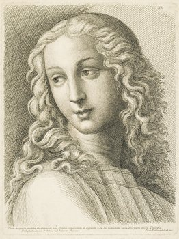 15B: Fidanza (P.) Testa incognita, after Raphael