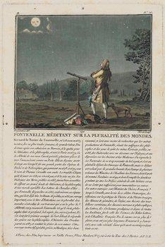 19B: Astronomy.- Desfontaines (R L) Fontenelle MŽditant