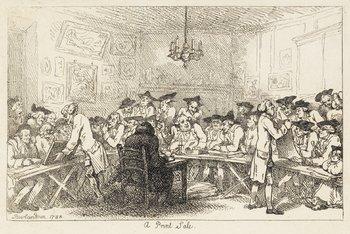 22B: Rowlandson (Thomas) A Print Sale