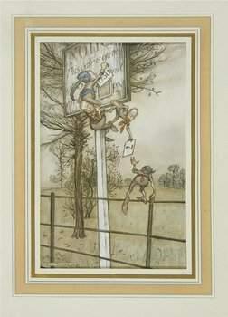 219C: Arthur Rackham.- Barrie (J.M.) Piter Pan