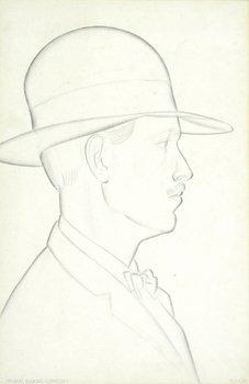5D: Eric Gill (1882-1940) portrait of thomas lewinsky