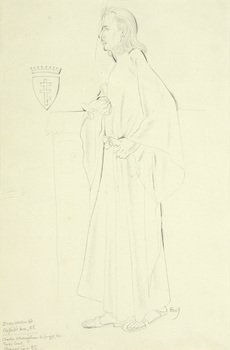 7D: Eric Gill (1882-1940) portrait of count potocki of