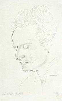 8D: Eric Gill (1882-1940) portrait of david pepler, 19