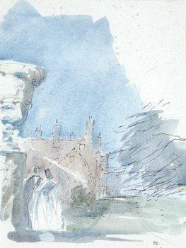 15D: Sir Hugh Casson (1910-1999) three sketches for a c