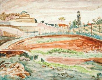 16D: Bernard Meninsky (1891-1950) landscape, cagnes, c.