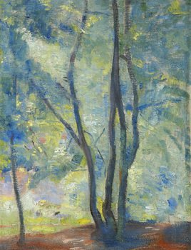 18D: Alfred Wolmark (1877-1961) light through trees