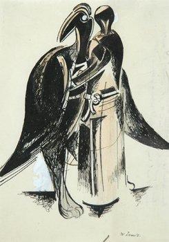 19D: Percy Wyndham Lewis (1882-1967) bird forms, c. 192