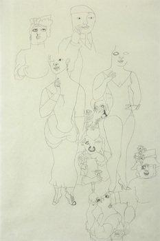 21D: Edward Burra (1905-1976) untitled