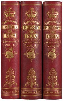 22E: Beveridge.Comp.History of India,3v,1862