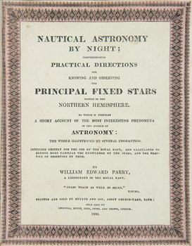 56B: Parry (W.E.) Nautical Astronomy by Night,1816