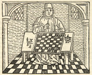 13D: Caxton (William), The Game of Chesse, 1862