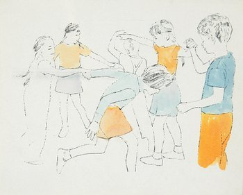 1A: Andy Warhol (1928-1987) children playing