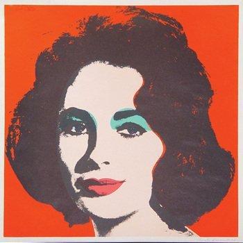 2A: Andy Warhol (1928-1987) liz (f.&s.ii.7)
