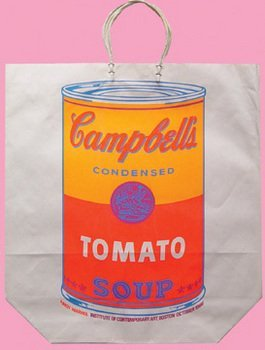 4A: Andy Warhol (1928-1987) campbell's soup can (tomat