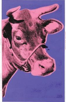 7A: Andy Warhol (1928-1987) cow (f.&s.ii.12a)