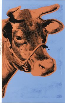 8A: Andy Warhol (1928-1987) cow (f.&s.ii.11a)