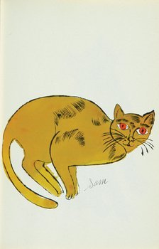 10A: Andy Warhol (1928-1987) 25 cats named sam