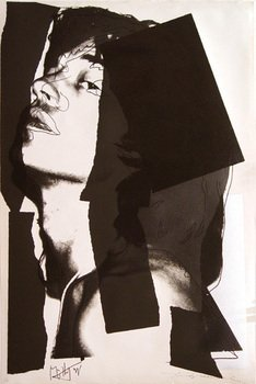 11A: Andy Warhol (1928-1987) mick jagger