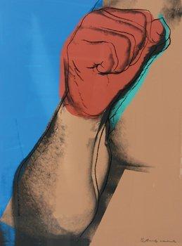 16A: Andy Warhol (1928-1987) muhammed ali